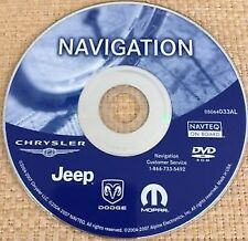 2002-2008 Chrysler Dodge Jeep Rec Rb1 Navigation Map Update Dvd p/n: 05064033Al (Fits: Chrysler)