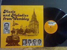 MUSIC AND MELODIES FROM WEMBLEY    Way To Life Chorus     LP     Christian