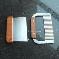 One Wavy Straight Cutter tool for Wood Soap Mold Loaf Cutter and Beveler Planer