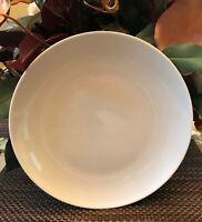 PORCELAIN Salad Plates - PILLIVUYT -  WHITE, Set of 4  MADE IN FRANCE