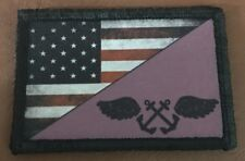 Navy Purple Shirt Boatswain's Mate Morale Patch Tactical Military Army Flag USA