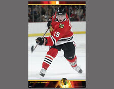 Rare JONATHAN TOEWS Rookie Year (2007-08) NHL Superstar Action Wall POSTER
