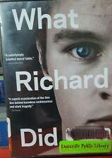 What Richard Did (DVD, 2014) Jack Reynor,Roisin Murphy,Sam Keeley,Lars Mikkelsen