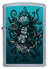 Zippo Octopus Ship Krake auf Wunsch mit pers. Gravur 60005164 Rick Rietveld