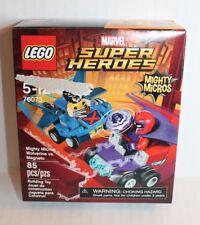 Lego Marvel Super Heroes Mighty Micros: Wolverine vs Magneto Legos Set 76073