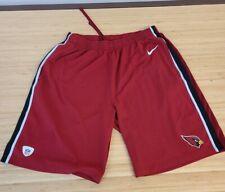 Nike Arizona Cardinals NFL Equipment Training Dri-Fit Men's Red Shorts size L