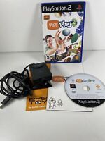 Sony Playstation 2 PS2 Eye Toy Camera And Game Eye Toy Play 2