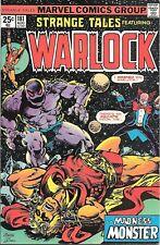 Strange Tales Featuring Warlock #181 VF/NM Marvel Comics August 1975
