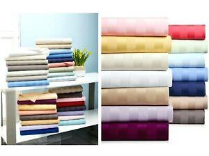 Cozy Bedding Sheet Set 6 PCs 1000TC Organic Cotton US Queen Size All Color