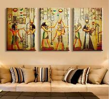 Modern Abstract Oil Painting Wall Decor Art Huge - Vintage Pretty Cleopatra