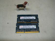 PAIR of Hynix 2x2=4GB PC3-10600S DDR3-1333MHz RAM HMT325S6BFR8C-H9 FREE SHIP