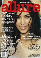 Allure magazine Kim Kardashian Hollywood beauty insiders Makeup Stress busters