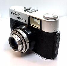 Voigtlander Vitoret Camera Vaskar 50mm F2.8 Lens