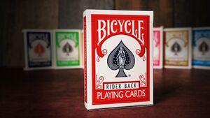 Bicycle Karten 807 Poker rot - Rider Back -  Spielkarten - Zauberkarten