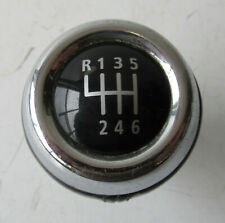 Genuine MINI Chrome & Black Leather 6 Speed Gear Knob - R56 R55 R57 R58 R59 #30