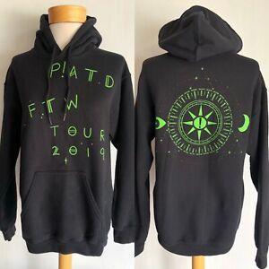"""PANIC! AT THE DISCO (2019) Official Pray For The Wicked"""" Tour Dates Hoodie Small"""