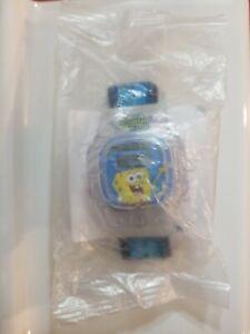"Kellogg's 2004 Spongebob Squarepants Movie ""Spongebob Blue/Clear"" Watch"