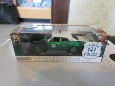 GreenLight 1:64 NYPD New York City NYC Police Chevy Biscayne GREEN MACHINE