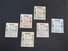 nystamps Italy Eritrea Stamp # 175-180 Mint OG H $33   N27x3088