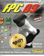 Futbol Profesional Colombiano 2009 - Panini Album INCOMPLETE