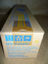 Panasonic DQ-TUN20Y Yellow Toner Cartridge GENUINE