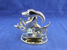 Crystocraft Capricorn the Sea Goat Sculpture with Strass Swarovski Crystals.