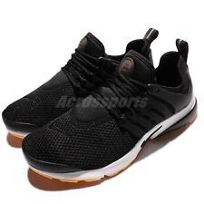 Wmns Nike Air Presto Black Gum Women Running Shoes Sneakers Slip-On 878068-005