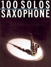 100 Solos for Saxophone Popular Sheet Music Graded Pieces Standards Book< 00006000 /a>