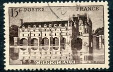 STAMP / TIMBRE FRANCE OBLITERE N° 610  CHATEAU DE CHENONCEAUX