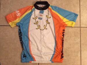 MS TOP BANANA PRIMAL MENS LARGE BICYCLE SHIRT NWT CYCLING JERSEY