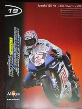 FASCICULE 19  MOTO GP 1/12  YAMAHA YZR M1 COLIN EDWARDS 2007
