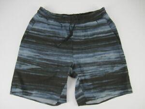 "Mens Small Lululemon 7"" blue drawstring shorts Recent"