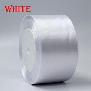 22meter Full Reel 50mm Satin Ribbon High quality Roll Scrapbooking Craft 25yards