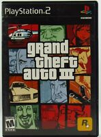 Grand Theft Auto III 3 GTA Sony PlayStation 2 2001 PS2 No Manual