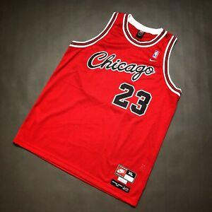 100% Authentic Michael Jordan Nike 84 85 Bulls Swingman Jersey Size XL 48 Mens