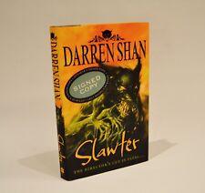 Slawter (SIGNED) - Darren Shan - 1st edition- excellent cond