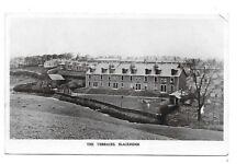 BLACKRIDGE Postcard Lanarkshire Early RP The Terraces 1910 Postmark