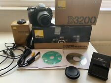 Nikon D3200 24.2MP Digital SLRCamera AF-S DX VR 18-55mm Lens excellent condition