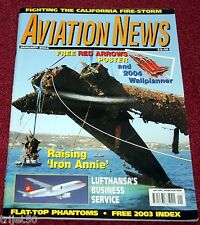 Aviation News 2004 January Lufthansa,RN Phantom,Mew Gull,Air India