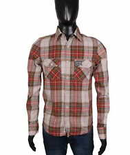 *Superdry Mens Shirt Tailored Vintage Checks size S