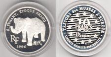 Coffret MDP BE 10 francs argent 1,5 euro éléphant époque Sbang 1996