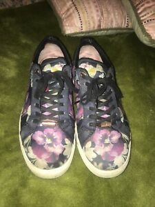 Ted Baker floral trainers size 6