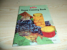 Kerr Home Canning Book 1950 Printing & 1941 Ball Blue Book Edition U