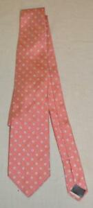 Brooks Brothers Men's Daisy Printed Narrow Silk Neck Tie BF5 Pink One Size