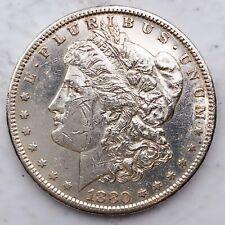 1880-S Mirror Like Morgan Silver Dollar 90% Silver $1 Coin Us #D95