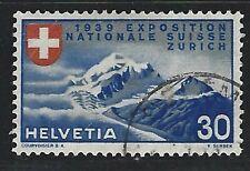 1939 Switzerland Scott #249 - 30c Swiss National Exposition in Zurich - Used
