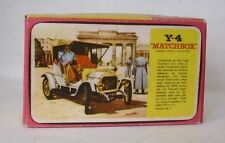 Repro Box Matchbox MOY Nr.04 1909 Opel Coupe Blisterbox