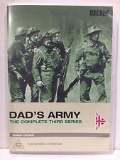 DAD'S ARMY ~ THE COMPLETE THIRD 3rd SERIES ~ PAL DVD ~ 2 AS NEW DISCS ~ 430 MINS