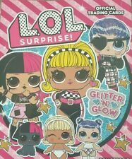 PANINI LOL SURPRISE GLITTER N GLOW TRADING CARDS SPARKLE NEON LIMITED EDITION