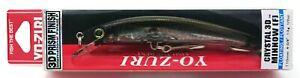 fishing lure YO-ZURI Crystal 3D Minnow 110F / F1146-SBR